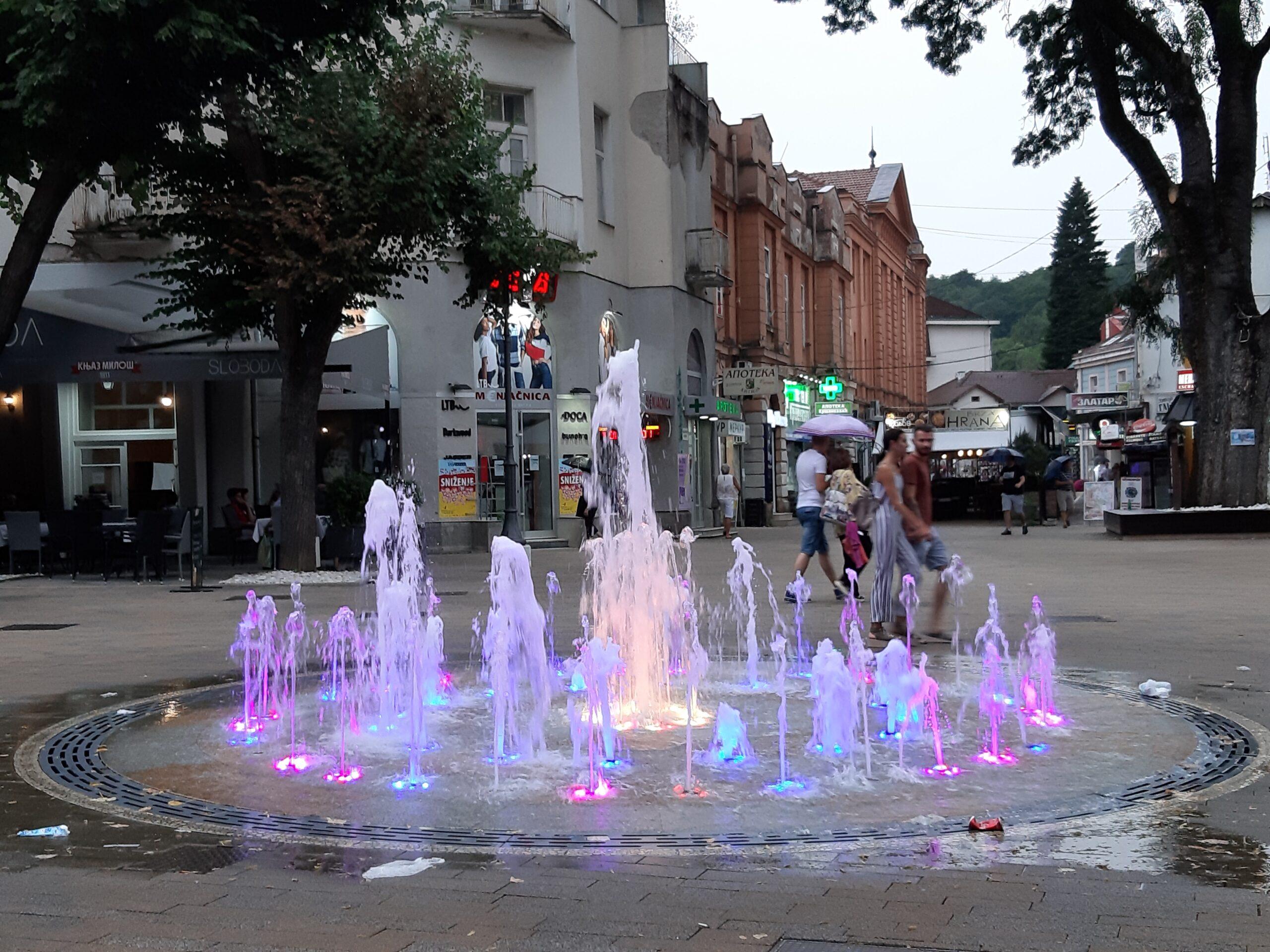 vrnjacka banja fontana