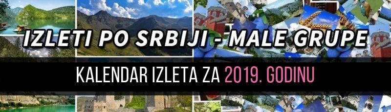 Izleti srbija 2019 Katalog