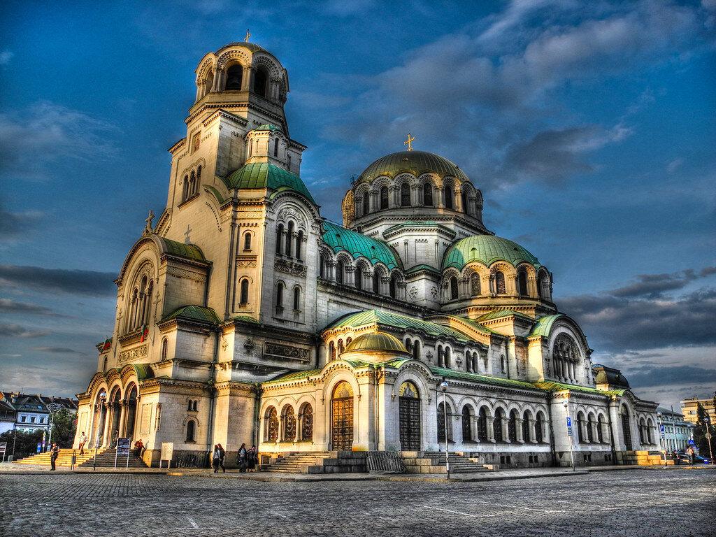 St. Alexander Nevsky Cathedral (Sveti Aleksandar Nevski) Sofia Bulgaria