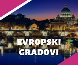 evropski gradovi putovanja